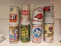 8 - Collectible Beer Cans