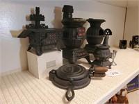 Asst. Cast Iron Stoves