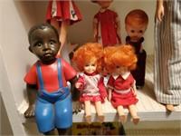 Penny Brite Dolls, Ken & Ricky Barbie Dolls, etc.