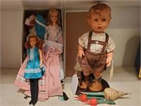 Glamour Misty Doll, Skipper, Hummel Boy Doll