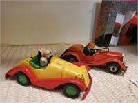 Vintage Tin Cars
