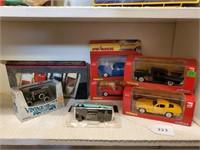 Die Cast Metal Cars in Boxes