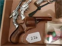 Hawk Toy Pistols, etc.