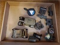 Metal Coin Banks & Vintage Miniatures