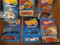 6 - 1980's NIB Hotwheels