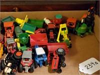 Farming Tractors & Equipment Toys