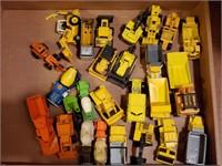 Hot Wheels Yellow Iron Vehicles
