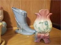 Vintage Leeds Piggy & Asst. Pottery