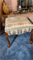 2 - Upholstered Foot Stools