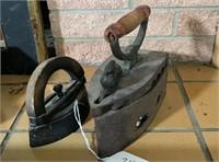 2 - Antique Irons