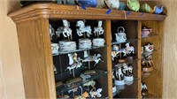 Wood Display Cabinet