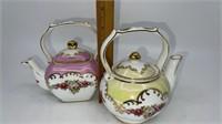 4 - Vintage China Teapots