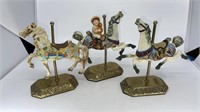 3 - Willits Collectible Carousel Horses
