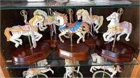 5 - Musical Carousel Horses