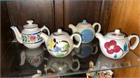 4 - Painted Teapots