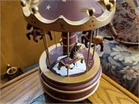 Wooden Musical Carousel