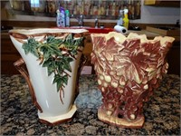 2 - McCoy Vases