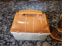 McCoy Lunchbox Cookie Jar and Wishing Well
