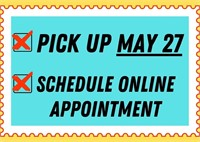 MAKE PLANS TO PICK UP ITEMS