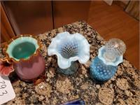 Asst. Blue Vintage Glassware