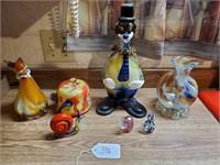 Asst. Murano Style Glassware