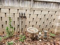 Bird Bath, Winnie The Pooh & Yard Art