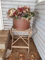 Large Flower Pot & Chair