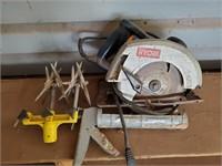 Ryobi Circular Saw & Caulk Gun