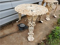 Metal Outdoor Table & 2 Chairs