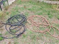 2 Large Garden Hoses