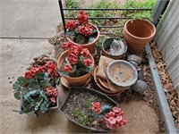 Flower Pots & Clay Plates