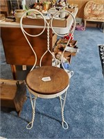Vintage Sewing Box, Bistro Chair, TV Tray