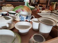 Misc. Teacups, Saucers, Strainers