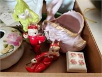 Misc. Vintage Dishes, Figurines, etc.