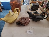 3 - Hall Teapots