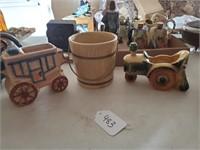 Hull Bucket, Tractor, Wagon