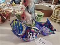 Asst. Fish Pottery & Glass