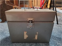 Metal Box and Contents