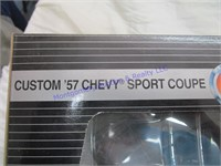 CUSTOM '57 CHEVY SPORT COUPE