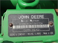 2008 JD 608C Corn Head #H0608CS726570