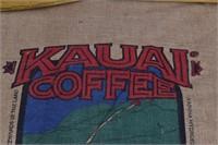 Kauai Coffee 2007 Estate Reserve Burlap Sack