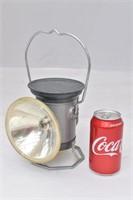 "Vintage ""Delta"" Powerlite Lantern Railroad Lamp"