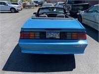 1991 Chevy Camaro Convertible