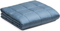 Use on Queen or King YnM Bamboo Weighted Blanket