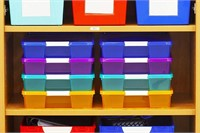 Storex Classroom Student Project Box, 3 Pack