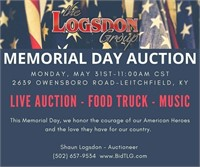 MEMORIAL DAY LIVE AUCTION