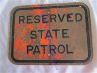 STATE PATROL SIGN
