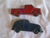 OLD RUBBER CARS