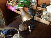 NUMEROUS DESK LAMPS