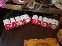 2AM/FM BATTERY RADIOS, CIGAR BOXES